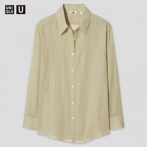 Рубашка женская, зеленый