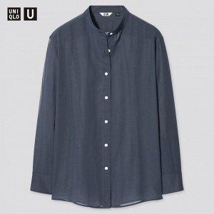 Женская рубашка, голубой