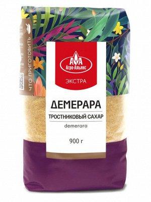 Агроальянс Экстра Сахар коричневый Demerara 900г.