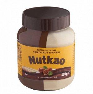 Шоколадно-молочная паста Nutkao с лесным орехом (БЕЗ ГЛЮТЕНА) KOSHER ХАЛЯЛЬ