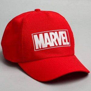 """Кепка детская """"Marvel"""", красная, р-р 52-56 5425147"""