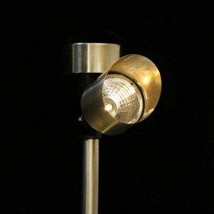 """Фонарь садовый на солнечной батарее """"Фонарь направленный"""" 13*36.5*5.5 см, 1 led, металл"""