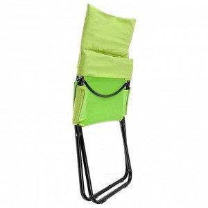 Кресло-шезлонг HHK4/G, 850 x 640 x 860 мм, цвет киви