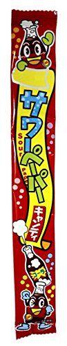 """Жевательная конфета Yaokin Inc кислые языки """"Кола""""  15 гр.  /Япония/"""