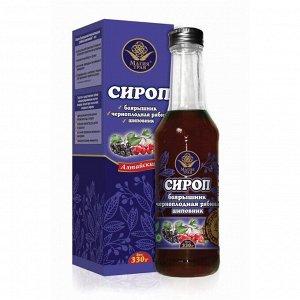 Сироп «Магия трав», боярышник, черноплодная рябина, шиповник, 330 г