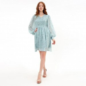 Платье женское MINAKU: Green trend  цвет мятный, р-р 44 5531667