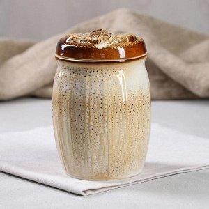"Бочонок для мёда ""Пчёлка"", 0.55 л"
