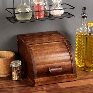 """Хлебница деревянная """"Кантри"""", 20 см, массив бука"""