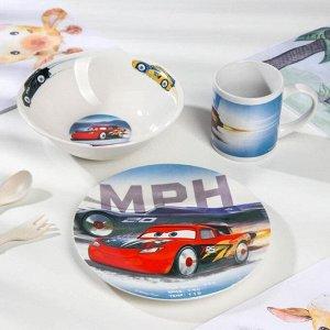 Набор посуды ND PLAY «Тачки», 3 предмета