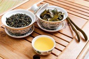 Жасминовый улун зеленый чай 100гр