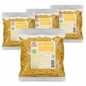 Макаронные изделия рисово-кукурузные Спиральки 300 гр без глютена Здоровей