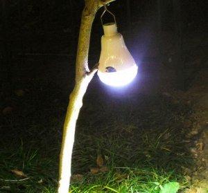 Лампа со светодиодной панелью