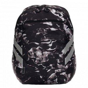 Рюкзак молодежный Seventeen, 43,5 х 35 х 21, двусторонний, подарок-наушники