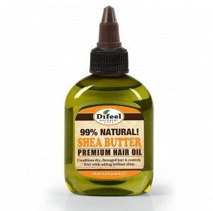Натуральное премиальное масло для волос с ши, 75 мл