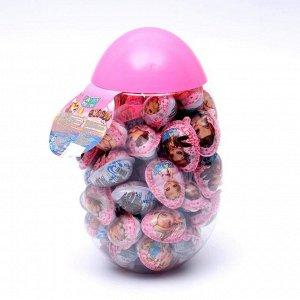 """Яйцо """"Fairy egg toy""""с шоколадным кремом ; пластиковая банка, 8 г"""