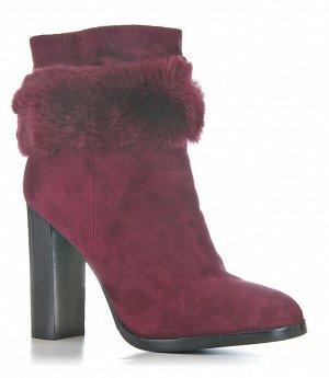 Ботинки зимние AIDINI, Бордовый