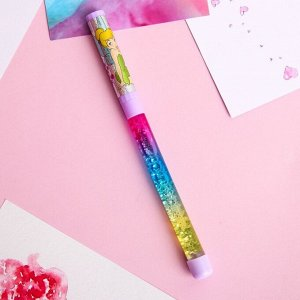 Сувенирные Ручка с играющими блёстками, Феи, Disney