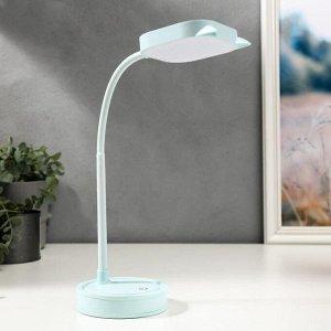 Лампа настольная сенсорная 1524/1 30хLED 3Вт АКБ USB 2 режима  10х10х41 см