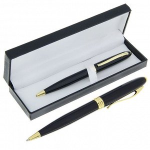 Ручка шариковая, подарочная, поворотная, в кожзам футляре, «Грант»