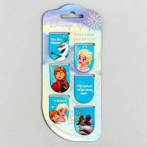 Открытка с магнитными закладками Frozen, Холодное сердце, 6 шт.