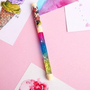 Сувенирные Ручка с играющими блёстками, Минни Маус, Disney