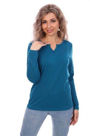 Блуза женская, изумруд