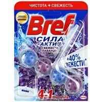 BREF (БРЕФ) Блок д/туалета Сила актив Свежесть Лаванды 50гр, *10/
