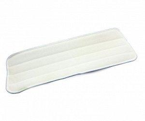 Насадка для плоской швабры на липучке, 41х14 см