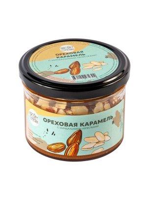 Ореховая карамель с миндальными лепестками 190 г Настин Сластин