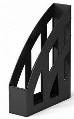 Лоток для бумаг вертикальный  75 мм черный 15119 Erich Krause {Россия}