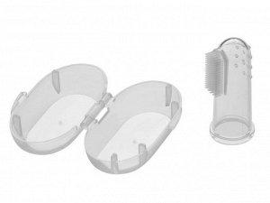 Зубная щетка-массажер(силикон) Roxy-KIDS
