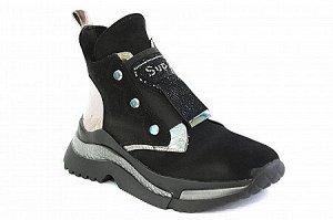 Ботинки AW-239 черн