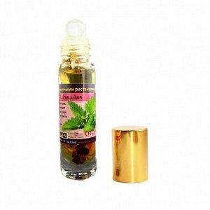 Бальзам жидкий от головной боли, тошноты, на виски, Лекарственные растения, Банна. 10 гр