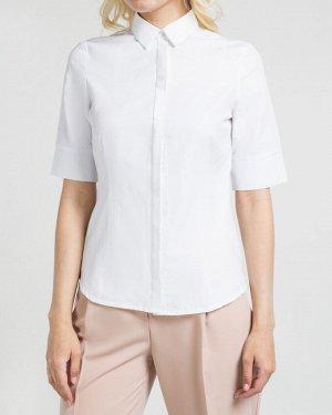 Рубашка жен. (000000)кипенно-белый