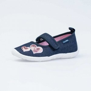 431157-11 синий туфли дошкольные текстиль ...