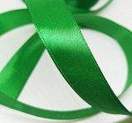 Лента атласная 2см. Зеленый.