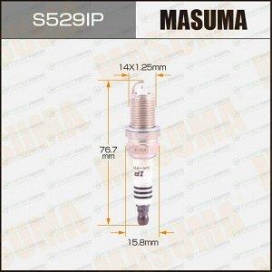 Свеча зажигания Masuma Iridium+Platinum с иридиевым электродом, арт. IFR6T11