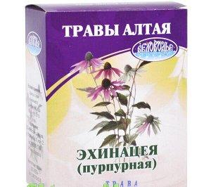 Эхинацея пурпурная, трава, 50 г, коробочка, чайный напиток