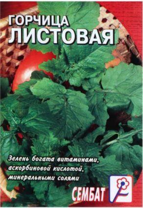 Семена Горчица Листовая