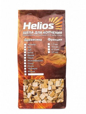 Щепа для копчения Helios (2л, яблоня)