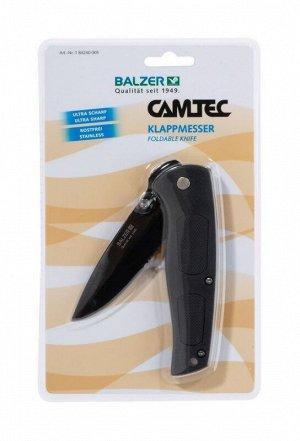 Нож складной универсальный Balzer Camtec Klappmesser 05 (9/20см, нержавейка)
