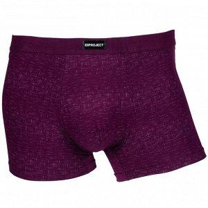 Трусы Модель: шорты. Цвет: бордовый. Комплектация: трусы. Состав: хлопок-80%, бамбуковое волокно-15%, спандекс-5%. Бренд: ERSAH PROJECT. Фактура: узор.