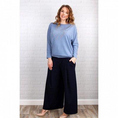 СИНЕЛЬ - Трикотажка для дома и Одежда на выход с 40 до 68 — Блузы и туники — Рубашки и блузы