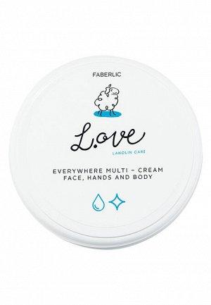 Крем для рук, лица и тела универсальный L.OVE