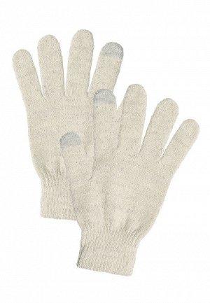 Перчатки сенсорные, цвет молочный