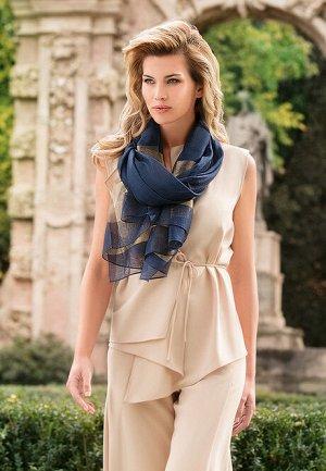 Палантин Giulia, цвет синий