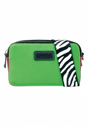 Мини-сумка, цвет зелёный