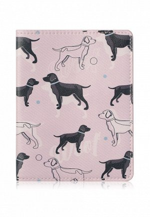 Обложка на паспорт «Солнечный пес»