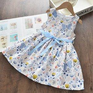 Сарафан Дизайн: Дизайн:; Бренд: La Carouselle; Цвет: Голубой; Основной состав: Хлопок (70%); Состав: Хлопок; Подкладка/внутренний материал: Хлопок;