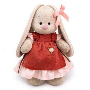 Зайка Ми в платье и переднике с рюшами (малый) мягкая игрушка